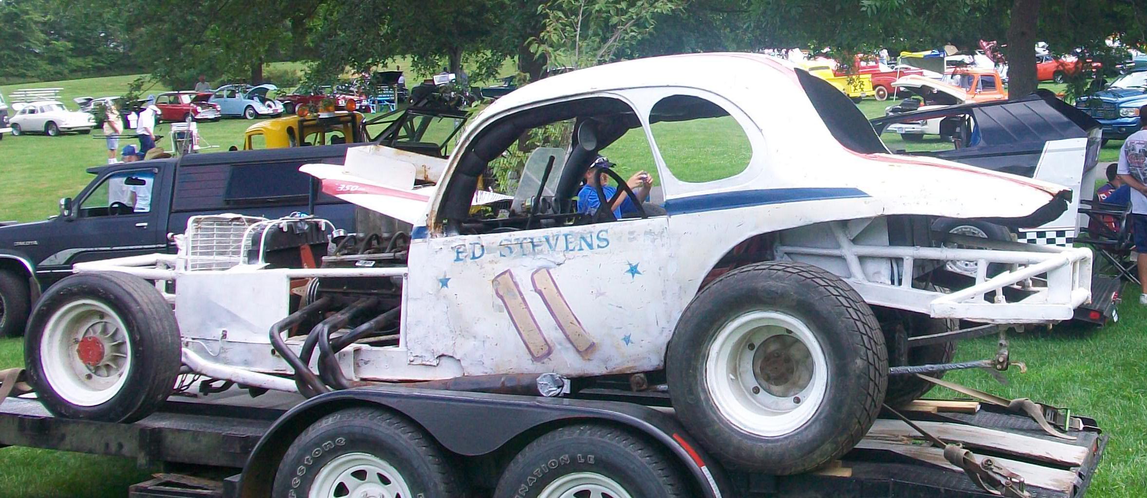 Eddie Stevens #11 - Northeastern Vintage Dirt Modified Racing Club