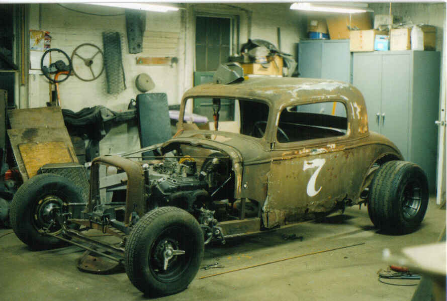 1933 Chevy Coupe Northeastern Vintage Dirt Modified