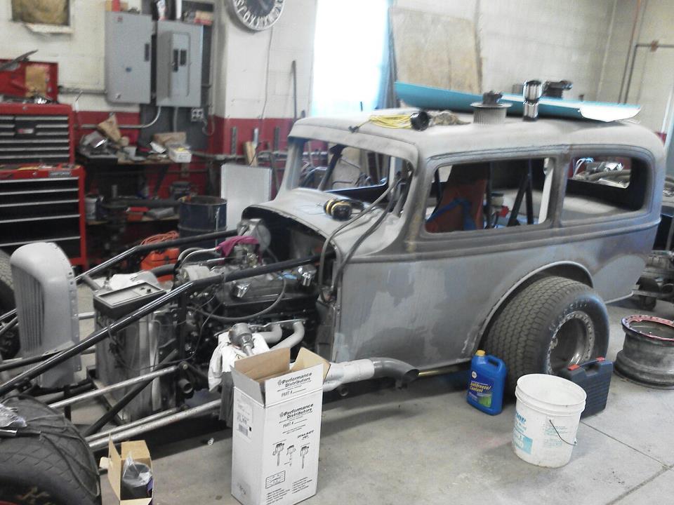 1932 Hudson Sedan Northeastern Vintage Dirt Modified