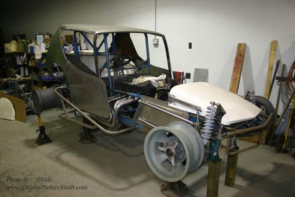 2 Progress Northeastern Vintage Dirt Modified Racing Club